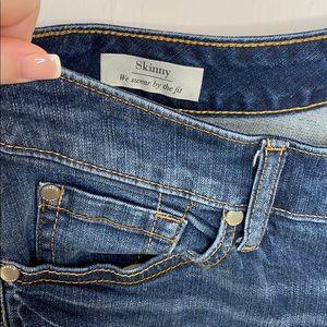 torrid Jeans - Torrid Stretch Dark Wash Skinny Jeans 14R